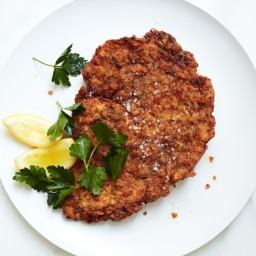 Pretzel Crusted Pork Schnitzel