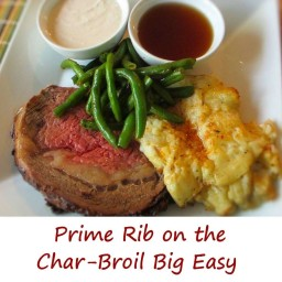 Prime Rib on the Char-Broil Big Easy