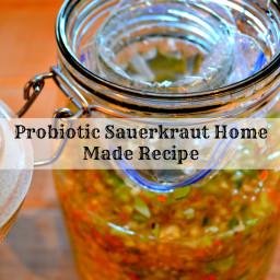 Probiotic Sauerkraut