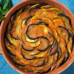 Provençal Tian (Eggplant, Zucchini, Squash, and Tomato Casserole)