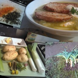 Provencale Potato and leek Soup