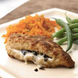 Provolone and Olive Stuffed Chicken Breasts