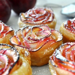 Puff Pastry Apple Roses (breakfast, Try!)