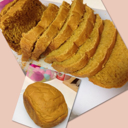 Pumpkin Bread (eggless)