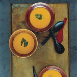 Pumpkin, Corn, and Lemongrass Soup