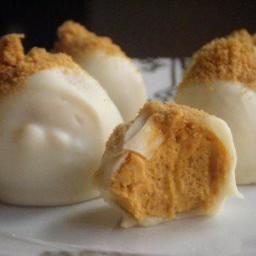 Pumpkin Cream Cheese Truffles