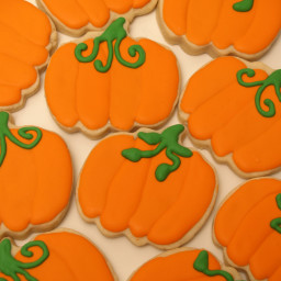 Pumpkin Cut-Out Cookies Recipe
