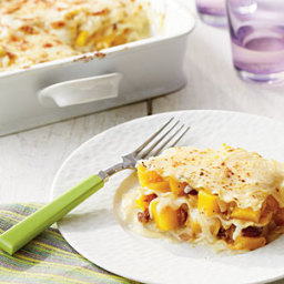 Pumpkin-Pecan Lasagna