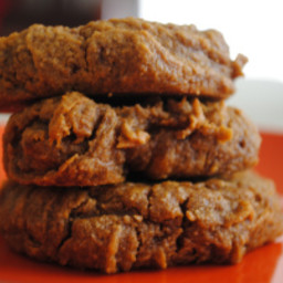 Flourless Pumpkin Pie Cookies