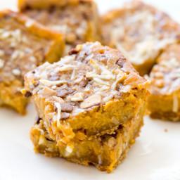 Pumpkin Pie Dream Bars