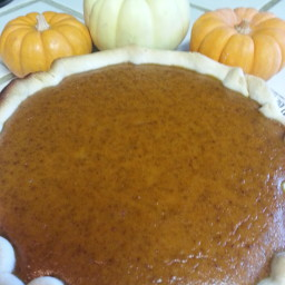 Pumpkin pie for Tye