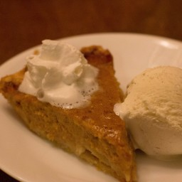 Pumpkin Pie - from a Real Pumpkin, Not a Can!