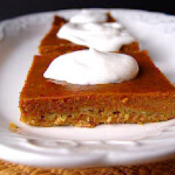 Pumpkin Pie Sheet Cake