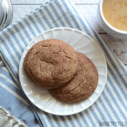 Pumpkin Pie Spice Snickerdoodles (for two)
