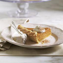 Pumpkin Pie with Spiced Walnut Streusel (Le Cordon Bleu)