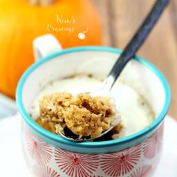 Pumpkin Spice Microwave Mug Muffin
