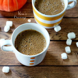 Pumpkin Spiced Hot Cocoa