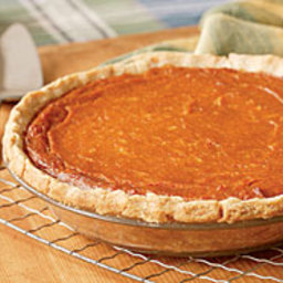 Pumpkin, Sweet Potato and Coconut Pie
