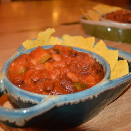 Pumpkin Vegetable Chili