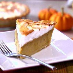 Pumpkin Banana Meringue Pie