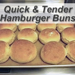 Quick and Tender Breadsticks And Hamburger Buns