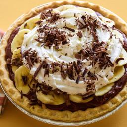 Quick Chocolate Banana Cream Pie