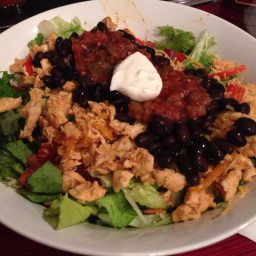 Medifast - Quick & Easy Chicken Taco Salad Recipe