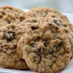 Quick Oatmeal or Wheat Flake Cookies