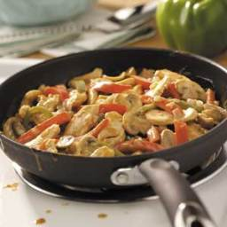Quick Peanut Chicken Stir Fry Recipe