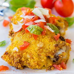 Quick-Prep Parmesan Crusted Chicken