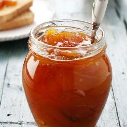 Quick Spiced Peach Jam