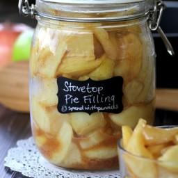 Quick Stovetop Apple Pie Filling!