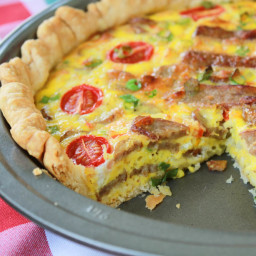 Quick and Easy Breakfast Pie