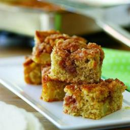 Quick and Easy Pear Coffee Cake with Streusel Topping