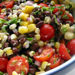 Quickest Black Bean Salad