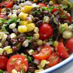 Quickest Black Bean Salad