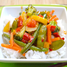 quick sweet  and  sour stir fry