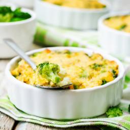 Quinoa, Broccoli, & Cheese Casserole