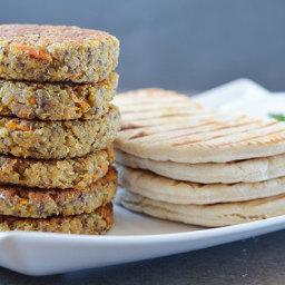Quinoa Falafel Patties
