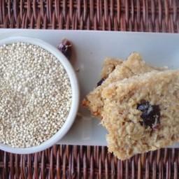 Quinoa Oat Protein Bars