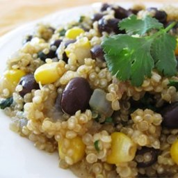 Quinoa and Black Beans