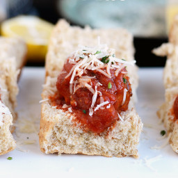 Quinoa Meatball Sliders