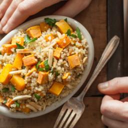 Quinoa with Roasted Veggies