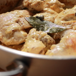 Rabbit in Mustard Piemonte (Italy) style