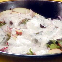 Radish, Apple and Onion Salad