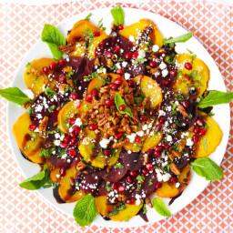 Rainbow Roasted Beet Salad