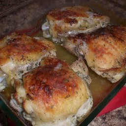 Ranch Baked Chicken