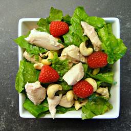 Raspberry Chicken Salad (DailyBurn Ignite)