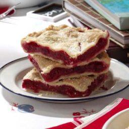 Raspberry Pie Squares Recipe