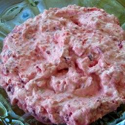 Raspberry Tapioca Salad